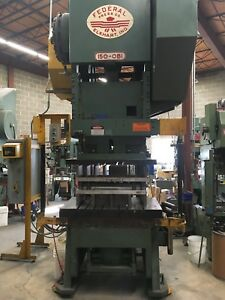 150 Ton Federal Obi Punch Press