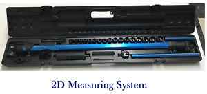 2d Measuring System Auto Body Frame Machine Tram Gauge Perfect Solution