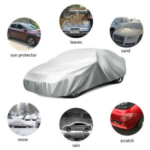 Car Cover Sun Snow Dust Rain Resistant Protection Waterproof For Sedan Size L