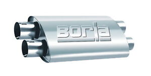 Borla Pro Xs Stainless Steel Oval Unnotched Exhaust Muffler 400287