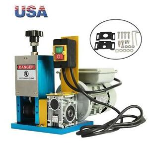 Power Electric Wire Stripping Machine Wire Cable Stripper Metal Recycle Tool Us