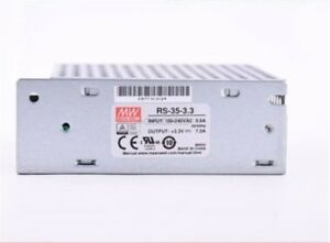 New Mean Well Rs 35 3 3 3 3v Ac To Dc Power Supply Single Output 7amp 23 1w Ar