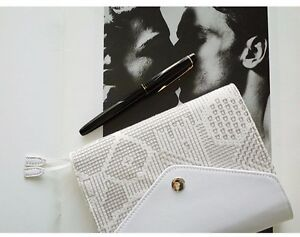 Kaze A6 Genuine Leather Planner White Cover For Hobonichi