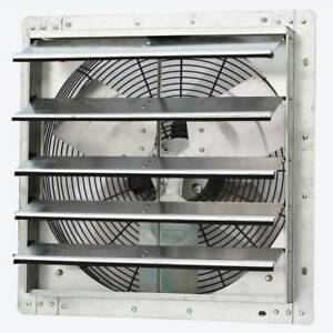 Iliving 18 Inch Industrial Wall Mount Variable Speed Shutter Blower Exhaust Fan