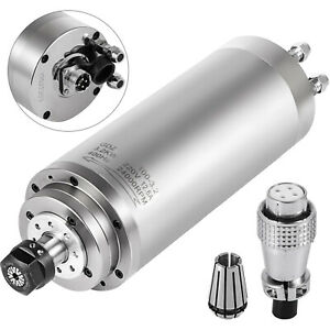 3kw Water Cooled Spindle Motor 3 0kw Er20 Engraving Mill Grind Bearing Milling