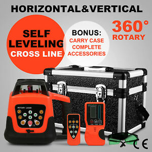 Auto Green Self leveling Horizontal vertical Laser Level 500m W case
