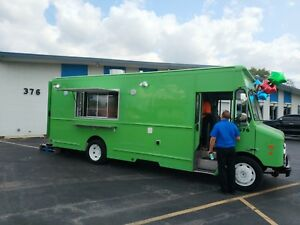 Used Custom Food Truck Ready For Equipment
