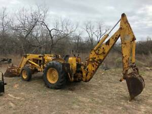 John Deere Backhoe Loader Jd300 Tractor Texas
