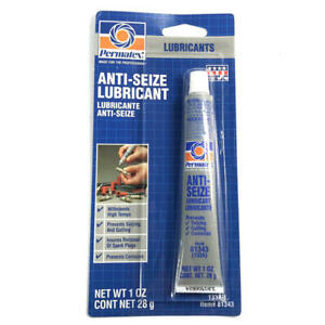 Permatex Anti seize Compound 81343 1oz Squeeze Tube Aluminum Copper Graphite