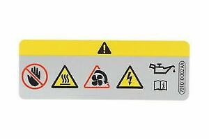 Sticker Overfilled Engine Oil Vw Beetle Convertible Cc Eos Golf 701010002a