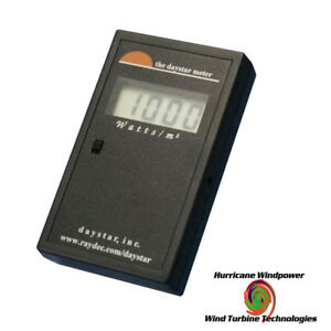 Daystar Ds 05a Digital Solar Meter Measures Global Solar Power In Watts m2
