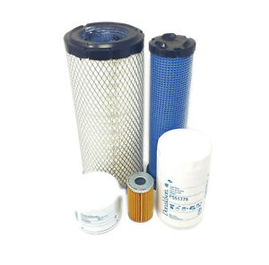 Kubota L5740 Series W v2403 m Engine Maintenance Filter Kit