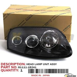 93 98 Toyota Supra Oem 81111 1b241 rh Side Projector Headlight Lamp