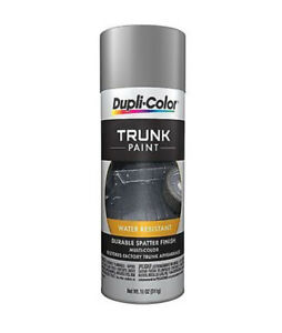 Duplicolor Tsp100 Grey And White Car Trunk Splatter Paint Aerosol 11oz Box Of 6