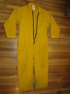 Firefighter Wildland brush Fire Coveralls Size Xl t 6oz Nomex Jumpsuit