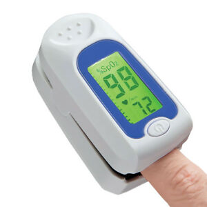 Color coded Oxygen Meter Pulse Oximeter O2 Meter Home Health Care