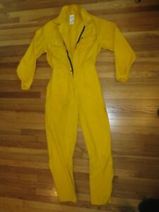 Firefighter Wildland brush Fire Coveralls Size L t Breathable 6oz Nomex Jumpsuit