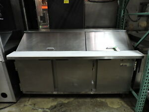 Beverage Air Sp72 30m Commercial Refrigerated Food Prep Table