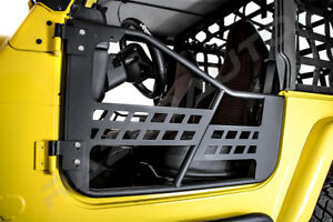 Rock Crawler Hd Replacement Body Armor Tubular 2 Door For 97 06 Jeep Wrangler Tj