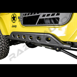 4x4 Hd Rock Crawler Side Armor Rocker Slider Guard For 97 06 Jeep Wrangler Tj
