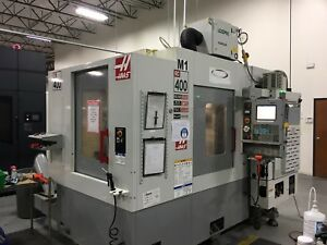 Used Haas Ec 400 Cnc Horizontal Machining Center Mill Twin Pallet Machine Tsc 04