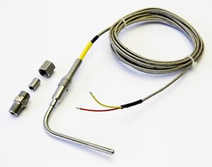 Egt Probe Type K 3 16 Thermocouple For Use W Autometer Ecumaster Haltech Zeit