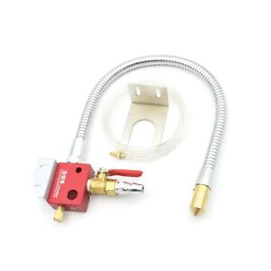Cutting Cooling Mist Coolant Lubrication Spray System Sprayer Metal Hose For