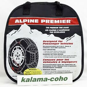 Alpine Premier Tire Snow Chains 1553 P225 75r15 P225 70r15 P245 60r15 235 60r16