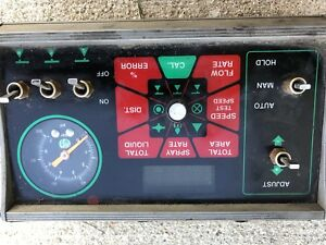 Microtrac Mt 3000 Agricultural Sprayer Control Panel And Wire Harness
