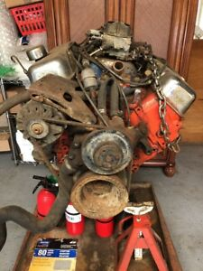 Gm Chevrolet Deluxe Engine 454ci Big Block Engine Built For Chevelle Look