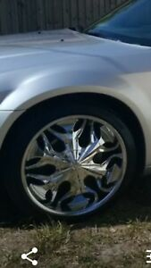 22 Inch Chrome Rims Tires Included