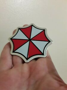 Metal Resident Evil Umbrella Corporation Car Auto Trunk Badge Emblem Car