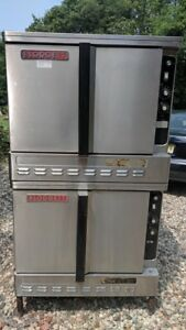 Blodgett Dfg100 Double Stack Gas Convection Ovens