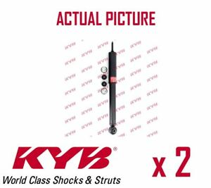 2 X New Kyb Rear Axle Shock Absorbers Pair Struts Shockers Oe Quality 343247