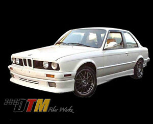 Bmw E30 Front Apron Add on 84 91 Heart ge Style
