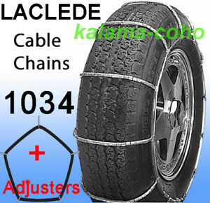 Chains 1034 Laclede Cable Tire Snow