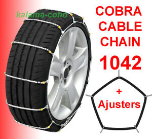 Cobra Tire Cable Snow Chains 1042