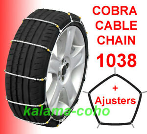 Cobra Tire Cable Snow Chains 1038