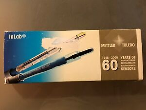 Mettler Toledo Ph Probe Electrode Inlab Micro Pro 51343162 Multipin Ph 0 14