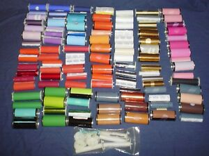 Kingsley Hot Stamping Machine 3 4 Foil Assorted Colors 100 Full Partials
