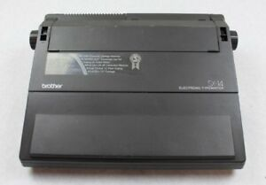 Brother Sx 14 Electronic Typewriter Word Processor