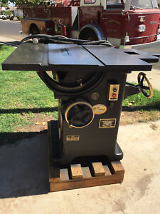 1951 Oliver 232 d 12 14 Table Saw Mint