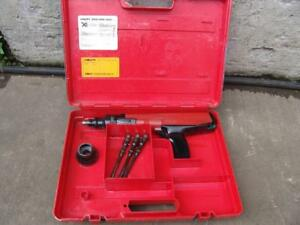Hilti Dx36m Powder Actuated Nail Stud Gun Tool With Case Works Fine