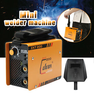 220v Zx7 200 Welding Machine Mma Portable Welder Dc Igbt Soldering Inverter Tool