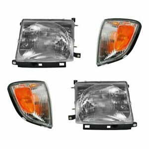 1997 1998 1999 2000 For Ty Tacoma Without Pre Combo Headlights And Corner Lights
