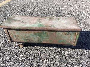 Oliver Super 77 Diesel Tractor Tool Box