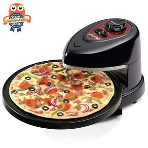 Electric Commercial Stainless Countertop Rotating Kitchen Pizza Snack Oven Usa