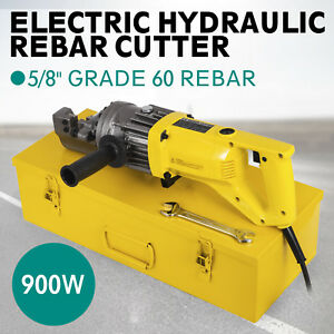 Rc 16 5 8 Capacity Hydraulic Rebar Cutter Electric Portable 5 8 Active Demand