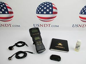 Staveley Sonic133dl addon Thickness Gage Ultrasonic Flaw Detector Ndt Ge Olympus