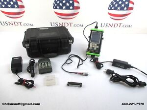 Ndt Systems Tg210 Thickness Gauge Ultrasonic Flaw Detector Ndt Olympus Ge